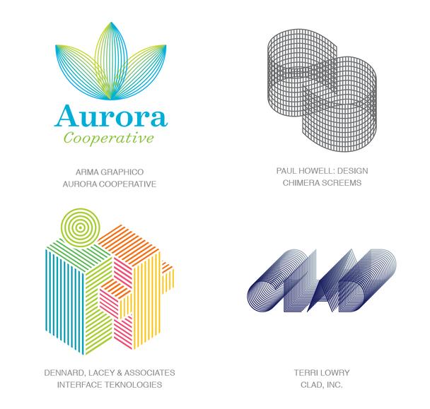 Микролинии в логотипах 2018 г