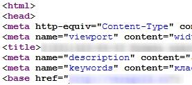 Правильное расположение keywords